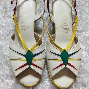 Vintage Penaljo Sandals- The Fine Art of comfort